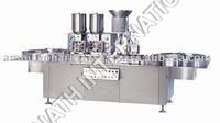 Vial Powder Filling & Bunging Machine