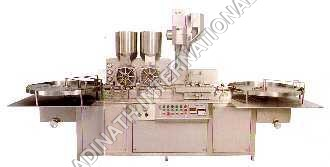 Sterile Vial Powder Filling and Bunging Machine