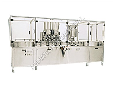 Sterile Vial Powder Filling with Stoppering Machine