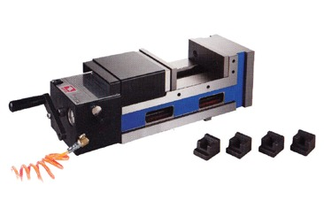 Precision Pneumatic-Ang Fixed Power Vise