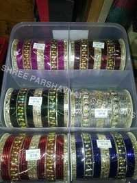 Assoted Color Metal Designer Bangles