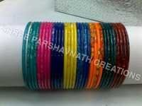 Coloured Stone Bangles