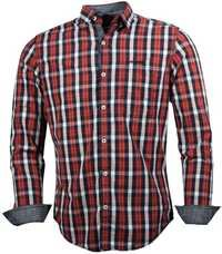 Red - Blue Check Shirt