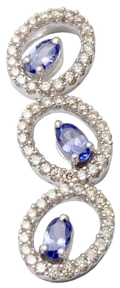 Cystal saphire round charm Pendant Necklace,  Cystal saphire round charm Pendant Necklace