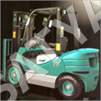 Diesel Operated Forklift Truck On Rent
