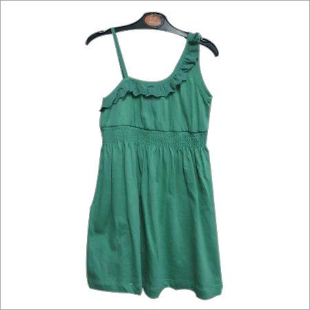 Kids One Shoulder Dress