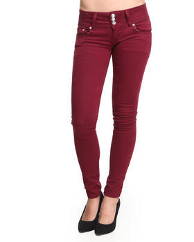 Maroon Denim