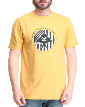 Yellow Embossed Tshirt