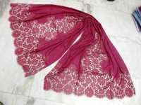 100% cashmere indonesia laces shawls