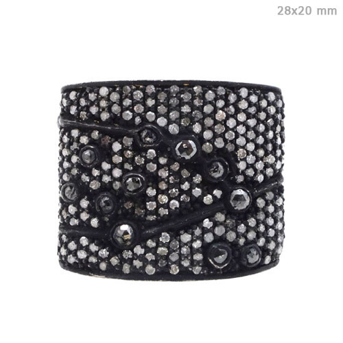 14k Gold 925 Silver Diamond Ring Jewelry