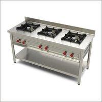 Three Burner Gas Cooking Range