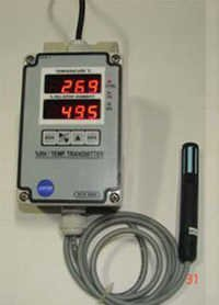 TEMPERATURE / HUMIDITY TRANSMITT      ER WITH RS-4