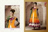 Double Layer Anarkali Salwar Suit