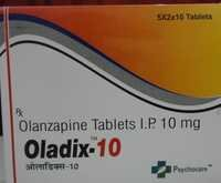 Olanzapine Tablets I.P 10 mg