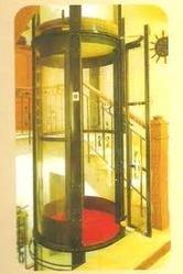 Round Glass Lift