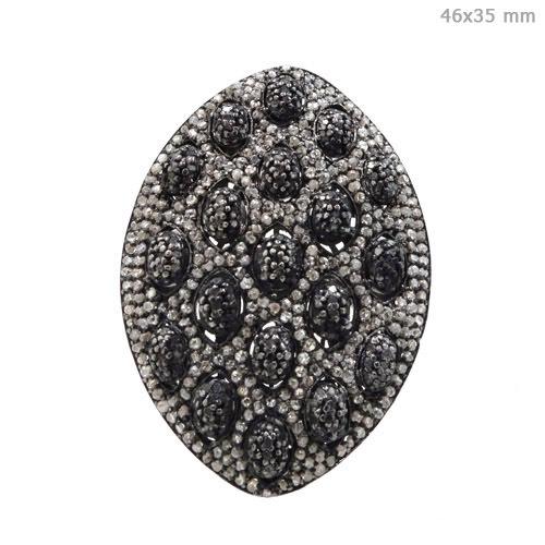 14k Gold Diamond Pave Ring