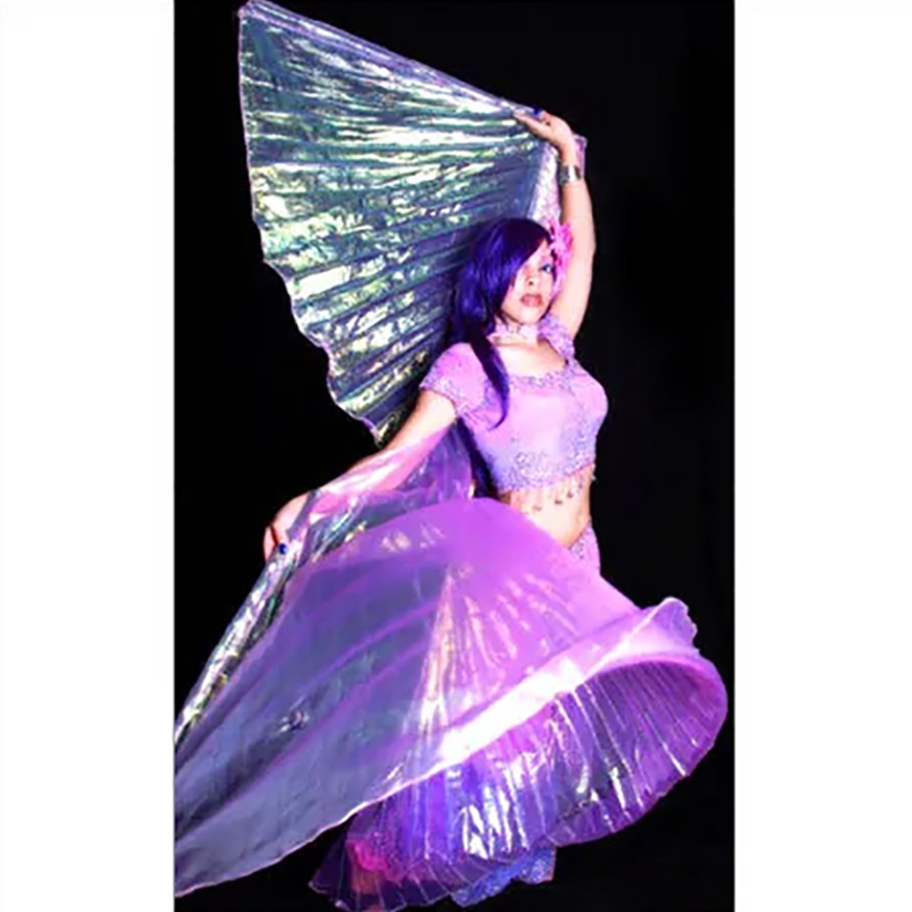 Purple Belly Dance ISIS Wing