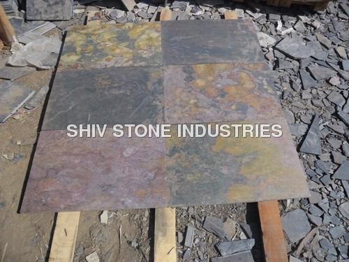 Jack Multi Slate Stone Floor Tiles