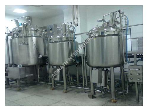Syrup Preparation Plant