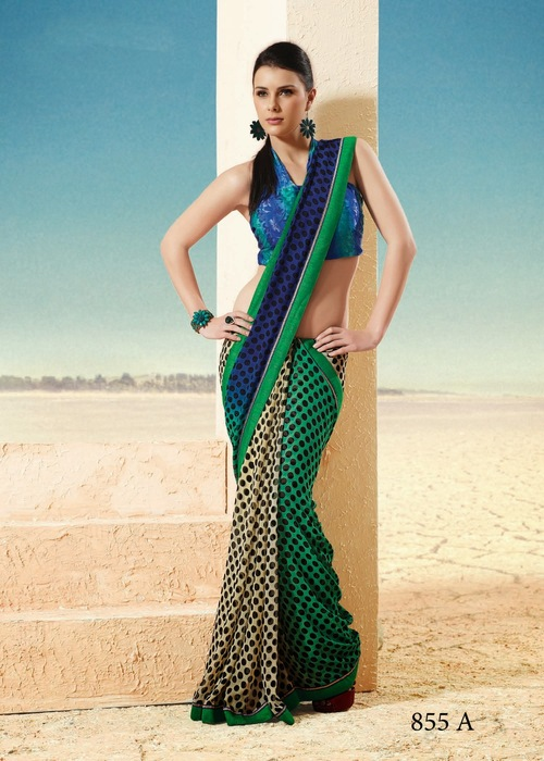 Colourful Fancy Sarees