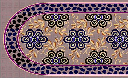 Flurocent Colour Sofa Panel