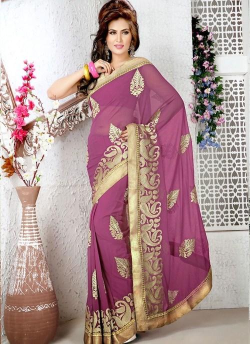 Gajri Designer Saree