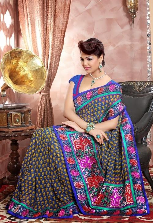 Sleek Pattern Sarees
