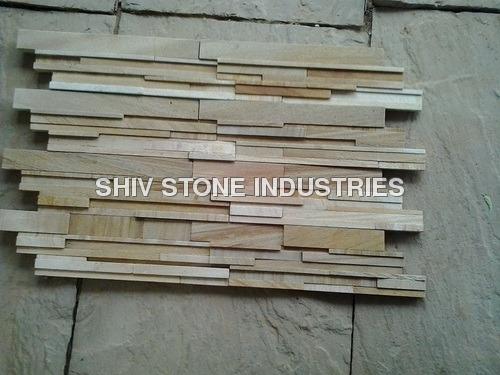 Teakwood Sandstone Wall Panel