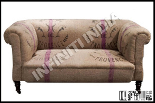 Grain Sack Sofa