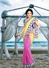 Pink sarees