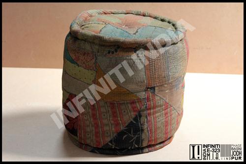 Vintage Kilim Pouf