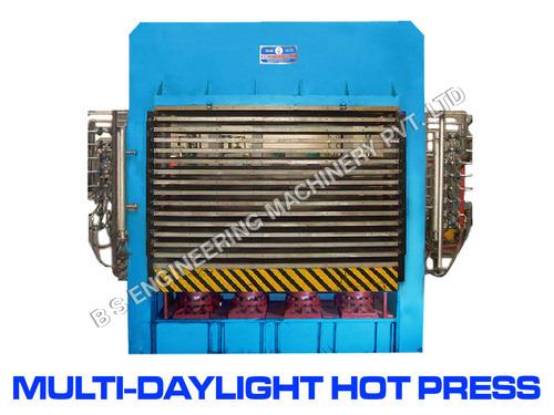Multi-Daylight Hot Press