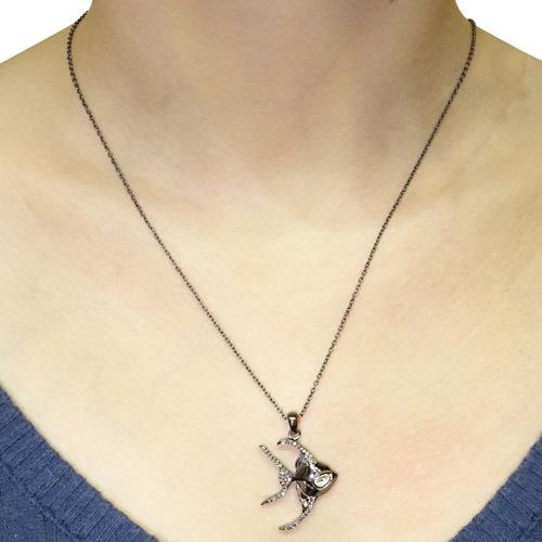 Pave Diamond Pendant Jewelry