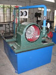 Pelton Wheel Turbine Test 5HP output 15HP Supply Pump