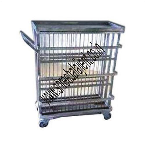 Clean Plate Rack Trolley