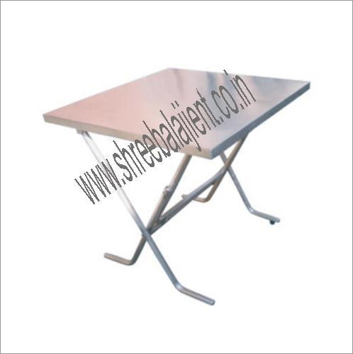 SS Dining Table Folding Type