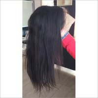 Raw Front Lace Straight Human Hair Wig