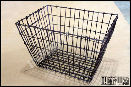 Industrial Wire Basket
