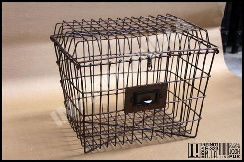 Industrial Wire Basket