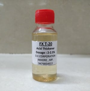 Acid Thickener For Toilet Cleaner FX T-20