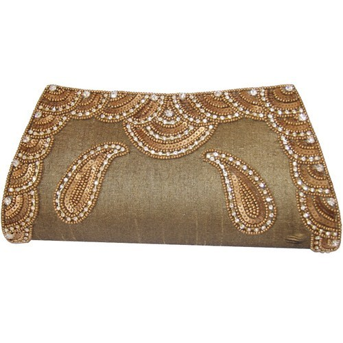 Embroidered Bridel Clutch Bags