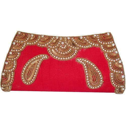 Embroidered Wedding Clutch Bags