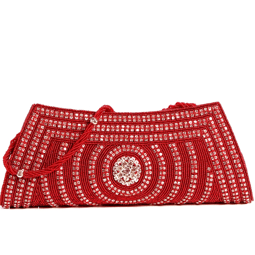 Embroidered Wedding Silk Clutch Bags