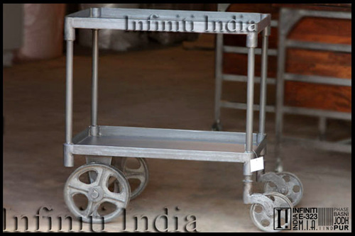 Vintage Industrial Trolly