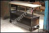 Vintage Industrial Trolley