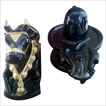 Marble Shivling-Nandi
