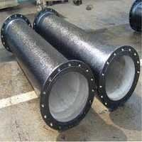 double flange cast ductile iron Pipe