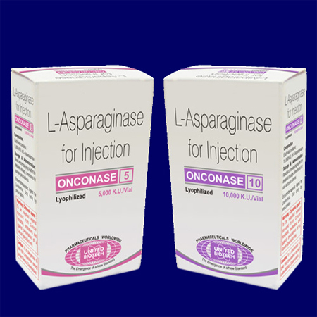 L-Asparaginase Injection 5000 KU/Vials