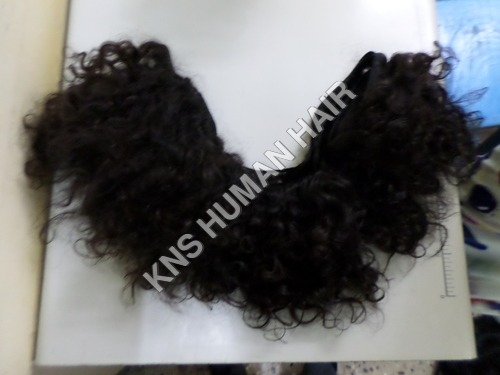 Natural Deep Curly Brown Colour Hair