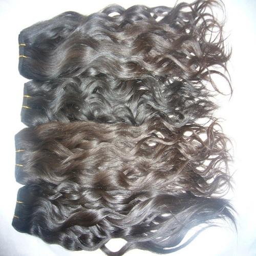 Natural Black & Brown Indian Human Hair